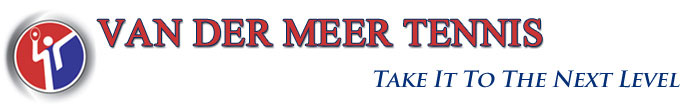 Van Der Meer Tennis Logo